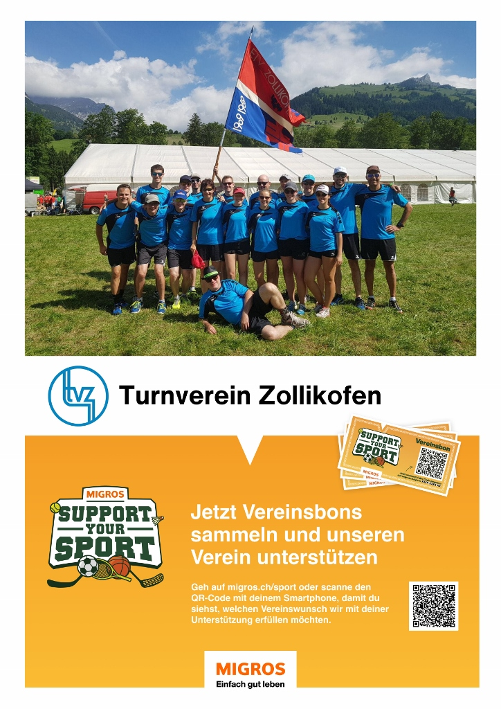 Support your Sport Plakat verkleinert